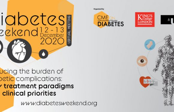 Diabetes Weekend'20 – Reducing the burden of diabetic complications: New treatment paradigms and clinical priorities